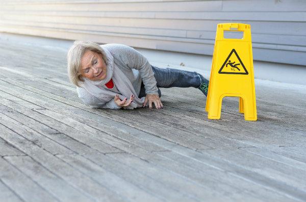 preventing falls in elderly