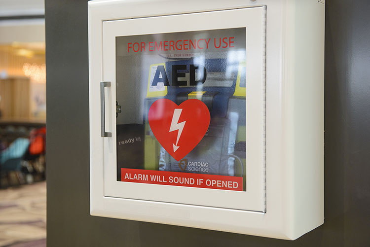 AED in an Office